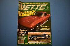 VETTE Magazine January 1988 Issue