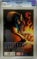 THANOS RISING #2 1:50 CGC 9.8 McGuinness Variant Infinity War Gauntlet 13 14 15