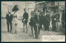 Ancona Castelfidardo Savoia Reali cartolina QQ1054