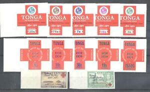 (872716) Red Cross, Miscellaneous,  - odd sized -, Tonga