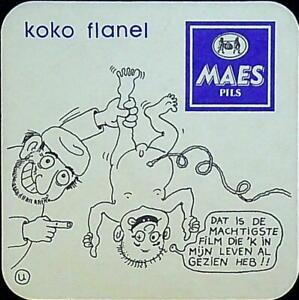 Sous Bock - MAES Pils - KOKO Flanel