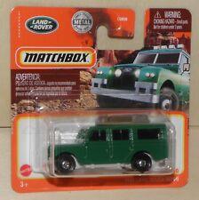 2021 Matchbox 1965 '65 LAND ROVER GEN II SAFARI grün Geländewagen MBX # 91 GXN09