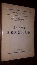 SAINT-BERNARD - Georges Goyau 1927