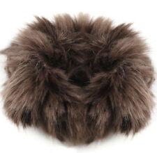 1PX Real Genuine Rabbit Fur Hair Band Elastic Hair Bobble Pony Tail Holder
