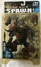 MOC 1999 MCFARLANE SERIES 15 TECHNO SPAWN CODE RED ACTION FIGURE