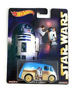 Hot Wheels Pop Culture 1/64 Real Riders 2015 Star Wars Quick D-Livery Van CFP77