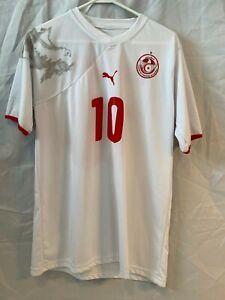Federation Tunisienne De Football Jersey Darragi #10 Worn Once Soccer/Football