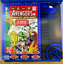 Marvel Collector Editions Classic Avengers Set of 6 Toy Biz 1999 NEW Rare HTF