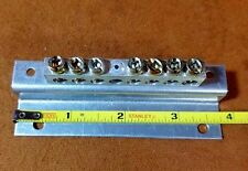 7 Position Ground Bar Kit with Aluminum Bracket 100A