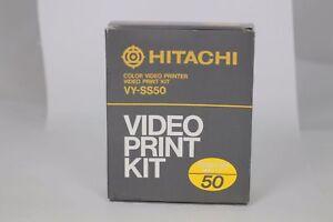 HITACHI VIDEO PRINT KIT - VY-SS50