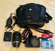 Canon EOS Rebel T3I 18 MP Digital SLR Camera Kit 18-200 Lens,bag,extras