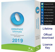 Nuance OmniPage Ultimate 19- OCR Scanning Software, Document management