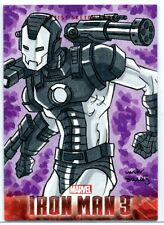 Iron Man 3 (Upper Deck 2013) Sketch Card / WAR MACHINE by Ryan van der Draaij