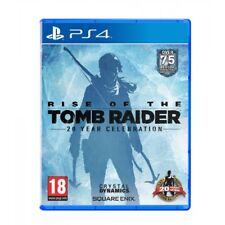 Rise of the Tomb Raider 20 Year Celebration PS4 Pro Enhanced PAL Ver New Sealed