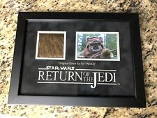 Screen Used Movie Prop Star Wars Return Of The Jedi Wicket Ewok Fur Prop Store