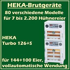 Heka Turbo 126 + S - Incubateur avec séparé Dispositif d'Éclosion, pour 144+100