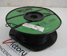 New West Penn Solid Copper Wire, 14 AWG, 1 Conductor, 1000 FT (Cable, Black)