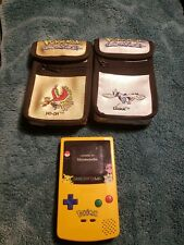 Gameboy Color Pokemon Edition Original Authentic ho oh and lugia carry case