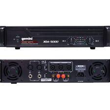 GEMINI XGA 5000 Amplificatore Finale Stereo 5000Watt Potenza Max NEW garanzia I