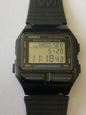Casio watch DB-80 telememo 30 data bank classic retro