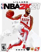 NBA 2K21 - PC Standard Version Sport Game - EUROPE - NEW Steam Account & codes