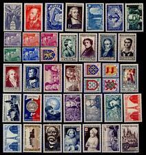 L'ANNÉE 1951 Complète, Neufs * = Cote 88 €  / Lot Timbres France 878 à 918
