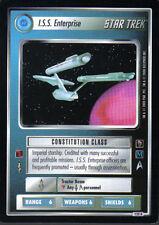 STAR TREK CCG MIRROR MIRROR RARE CARD I.S.S. ENTERPRISE