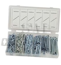 500pc Cotter split Pin Assortment Securing Storage Box car automotive fixings