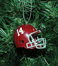 University of Alabama, Bama, Crimson Tide, Football Helmet Christmas Ornament