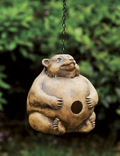 Bear - Portly Birdhouse (Resin) w/Chain - Functional or Display..10.. EG-09358