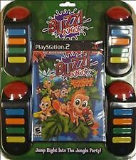 NEW Sealed Sony Playstation 2 - Buzz Junior: Jungle Party Bundle