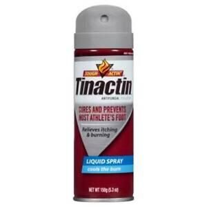 lot of 3 Tinactin Athletes Foot Liquid Spray 5.3 oz Pack of 3