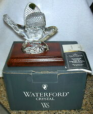 Waterford Crystal Society Nightingale Bird Legend & Lore Collection MIB 1998