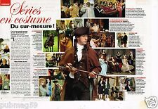 Coupure de Presse Clipping 2010 (2 pages) Serie en costume du sur mesure