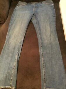 Old Navy Women's The Sweetheart Stretch Classic Bootcut Jeans Size 16 Long Stret