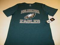 Philadelphia Eagles NFL Football Team Eagle Bird Logo T-Shirt NWT Youth LG 14 16