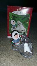Hallmark Keepsake Ornament Collector's Series Frosty Friends Seals Dated 2000