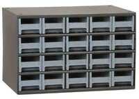 AKRO-MILS 19320 Drawer Bin Cabinet, 11 In. D, 17 In. W