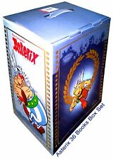 Asterix Books Set Collection-Brand New 36 Comics Books by Rene Goscinny (English