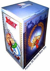 Asterix Books Box Set Collection - Brand New 36 Big Sized Comics Books - English