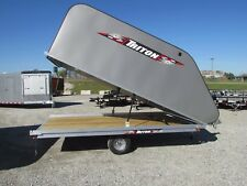 NEW TRITON 12' ENCLOSED SNOWMOBILE TRAILER *TILT STYLE* BEST DEALS @ DR TRAILER