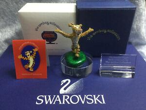 Swarovski Crystal Tigger Jeweled w/ Pave Stones 14012004 SDW007. Ltd Ed.