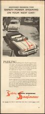 1950's Vintage ad for Saginaw power steering`art retro car  (073018)