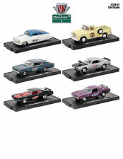 DRIVERS 6 CARS SET RELEASE 42 IN BLISTER PACKS 1/64 CARS BY M2 MACHINES 11228-42