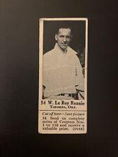 1925 V31 Canadian Dominion Chocolate W. Le Roy Rennie (Tennis)