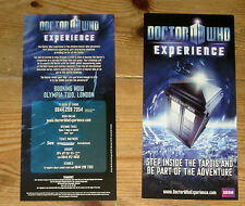 Doctor Who promotional flyer for the Earl's Court BBC Experience, new