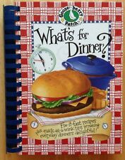 2005 GOOSEBERRY PATCH WHAT'S FOR DINNER? COOKBOOK, FIX IT FAST RECIPES, IDEAS