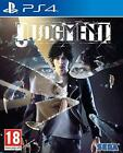Judgment (PS4) Brand New & Sealed - In Stock Now - FREE P&P - Quick dispatch