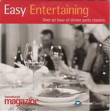 EASY ENTERTAINING: 14 TRACK PROMO CD - MOZART BEETHOVEN SATIE CHOPIN ALBINONI ++