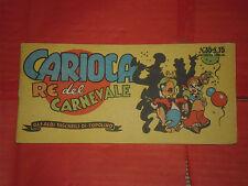 ALBI TASCABILI di TOPOLINO-STRISCIA N° 35 -c-prima 1° originale 1949 carioca